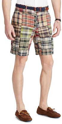 Polo Ralph Lauren Madras Plaid Classic Fit Shorts $89.50 thestylecure.com