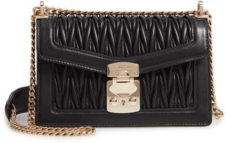 Miu Miu Black Leather Crossbody Handbags - ShopStyle 87e187e23223f
