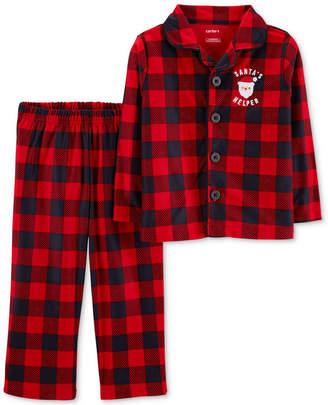Carter's Toddler Boys Buffalo Plaid Pajamas