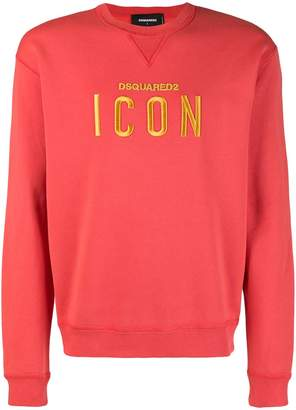 DSQUARED2 Icon embroidery sweatshirt