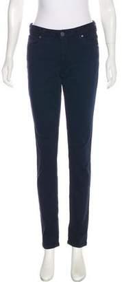 Alice + Olivia Mid-Rise Skinny Pants