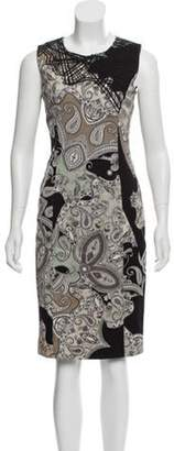 Etro Sleeveless Midi Dress multicolor Sleeveless Midi Dress