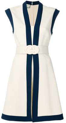 Gucci Jersey dress with GG belt