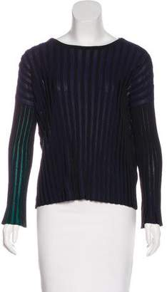 Kenzo Rib Knit Long Sleeve Top