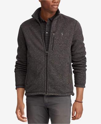 Polo Ralph Lauren Men's Big & Tall Fleece Mock Neck Jacket