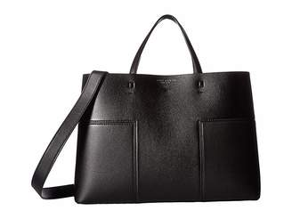 Tory Burch Block-T Triple Compartment Tote
