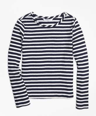 Brooks Brothers Girls Stripe T-Shirt