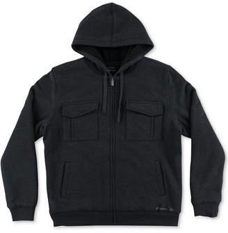 O'Neill Men's Zimmer Sherpa-Lined Fleece Hoodie