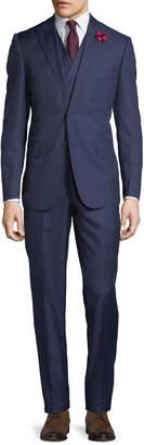 English Laundry Men's Three-Piece Suit, Navy