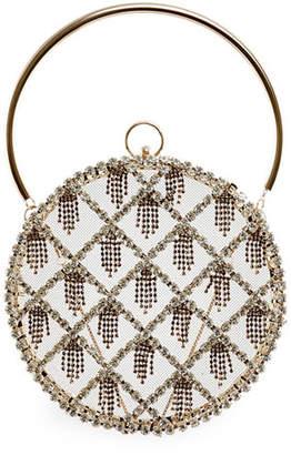 Rosantica Gautier Embellished Circle Bag