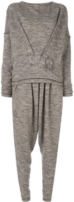 Issey Miyake Pre-Owned jumper and trouser set