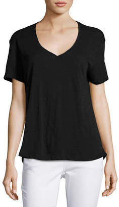 ATM Anthony Thomas Melillo Boyfriend Fluid Slub Jersey Tee