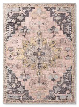 Threshold Damask Tufted Vintage Wool Rug