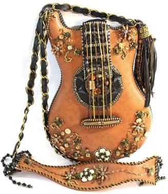 Mary Frances Beaded Guitar Purse
