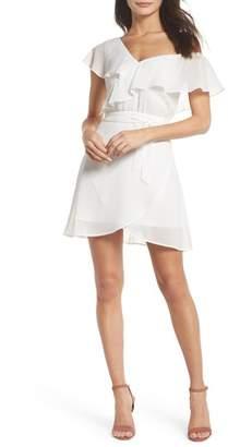 Ali & Jay Secret Star One-Shoulder Minidress