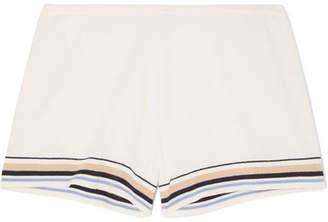Skin - Evie Organic Cotton-blend Shorts - Cream