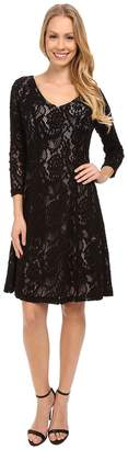 NYDJ Amelia All Over Lace Dress Women's Dress