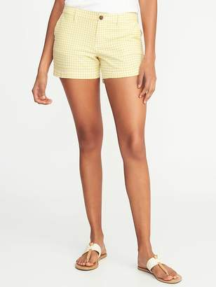 """Old Navy Mid-Rise Everyday Seersucker Shorts for Women (3 1/2"""")"""