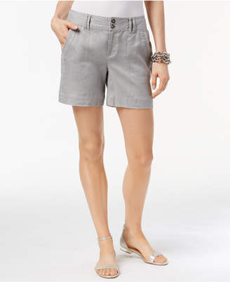 INC International Concepts I.n.c. Linen Shorts, Created for Macy's