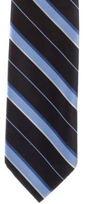 Tiffany & Co. Striped Silk Tie w/ Tags