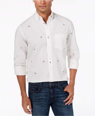 Club Room Men's Bulldog Oxford Shirt, Created for Macy's