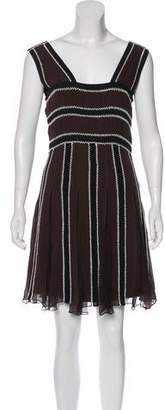Temperley London Sleeveless Silk Dress