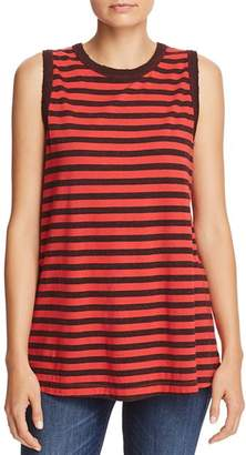 Current/Elliott The Easy Striped Muscle Tank
