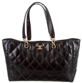 Chanel Surpique Chain Shopper