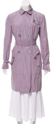 Armani Collezioni Belted Trench Coat