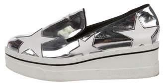 Stella McCartney Vegan Leather Slip-On Sneakers