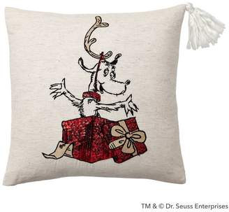 Pottery Barn Teen Grinch MaxPillow Cover, 18x18, Grinch Max