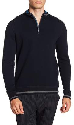 Ted Baker Sindey Quilted Funnel Neck Pullover