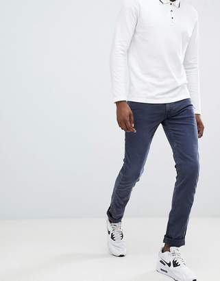 Replay Anbass slim stretch jeans in navy