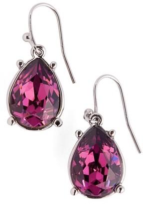 Women's St. John Collection Swarovski Crystal Drop Earrings $95 thestylecure.com