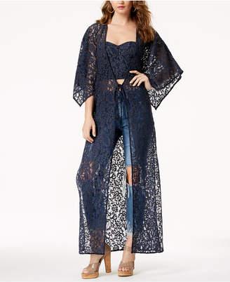 GUESS Sunbleached Lace Kimono