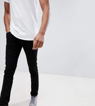 Lee TALL Luke Skinny Jeans in Black