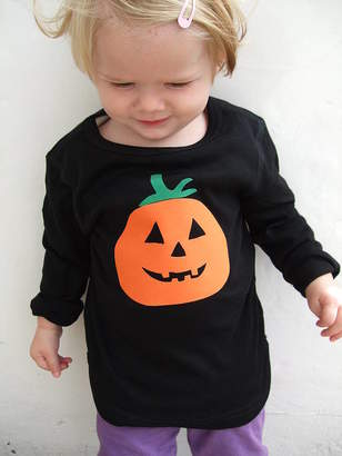 Littlechook Personalised Childrens Clothing Child's Halloween T Shirt