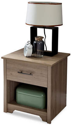 SOUTH SHORE Fusion One-Drawer Nightstand
