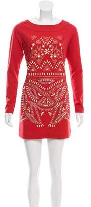 ALICE by Temperley Sequin-Embellished Mini Dress