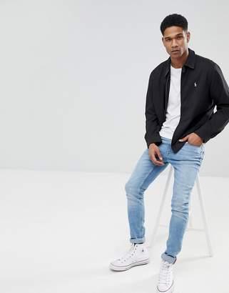 Polo Ralph Lauren Harrington Jacket In Black