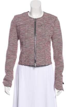 Theory Zip-Up Knit Jacket