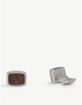 Tateossian Deschutes Jasper cufflinks