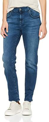 7 For All Mankind Seven International SAGL Women's Relaxed Skinny Boyfriend Jeans, (Blue Depth 0wu), W29/L27 (Size: 29)