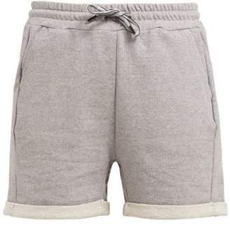 Lndr - Brisk Stretch Cotton Jersey Shorts - Womens - Grey