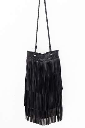 Areias Leather Black Leather Bag