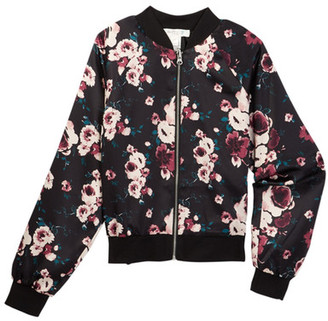 Fire Reversible Printed Bomber Jacket (Big Girls) $58 thestylecure.com