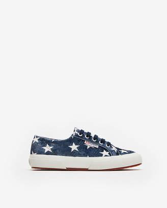 Express Superga Velvet Stars Classic Sneakers