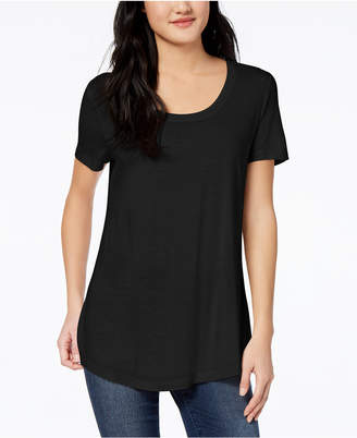 Maison Jules Scoop-Neck T-Shirt