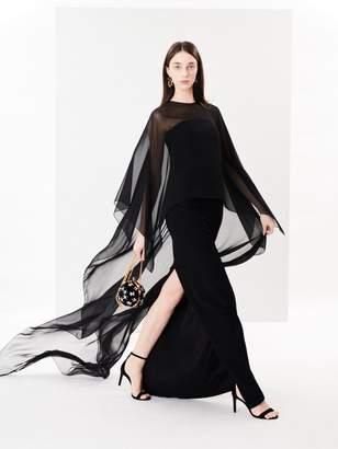 Oscar de la Renta Cady Pesante Column Gown