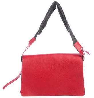 Joseph Leather Flap Bag